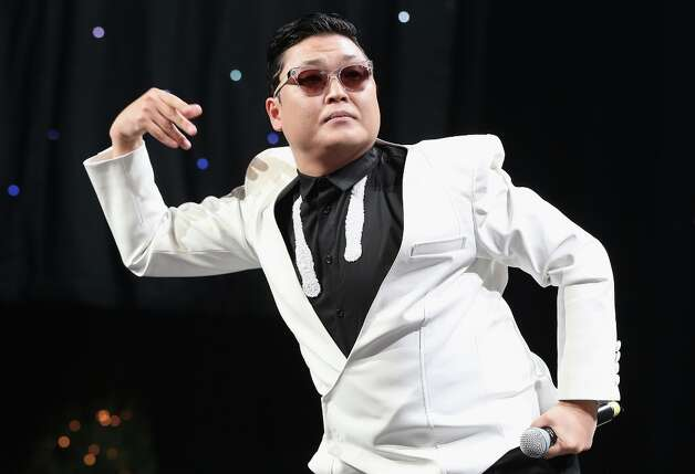 Korean pop star Psy may have become a millionaire from his YouTube hit Gangnam Style, but he was shut out of the Grammys. Photo: Christopher Polk / 2012 Getty Images