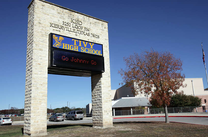 Tivy High School in Kerrville, Tx, where Heisman Trophy candidate Johnny Manziel attended and rec