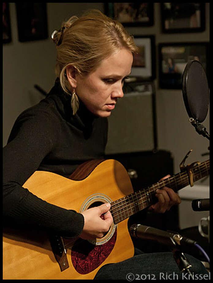 Katie recording (Rich Krissel)