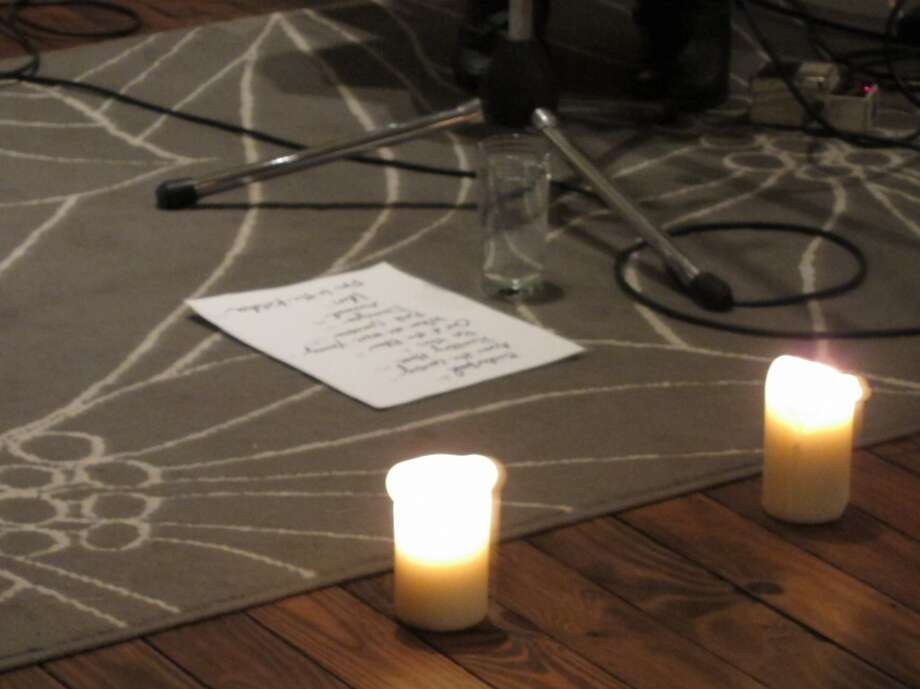 set list - The Foundry for Art Design + Culture, Cohoes - Nov. 24th 2012 (Andrew Gregory)