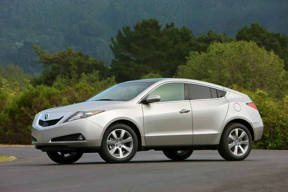 Acura ZDX: Forbes ripped the model for its interior, and it seems like consumers had the same opinion. Acura only sold 37 models last month. Photo: Honda / Acura