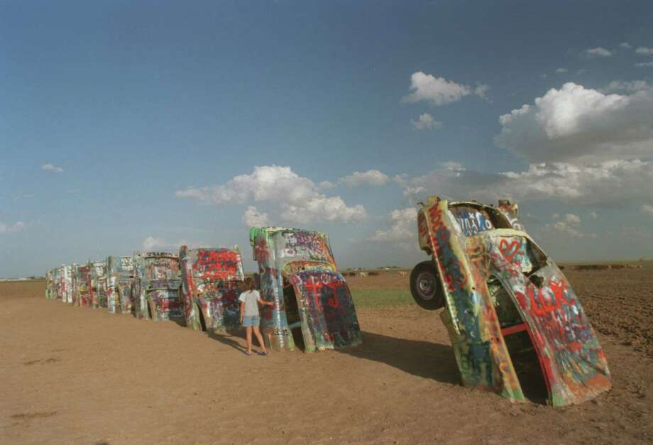 Cadillac Ranch: The Amarillo property is known for being an iconic art display. The land is worth about $1.2 million, including a $500 extra feature value.