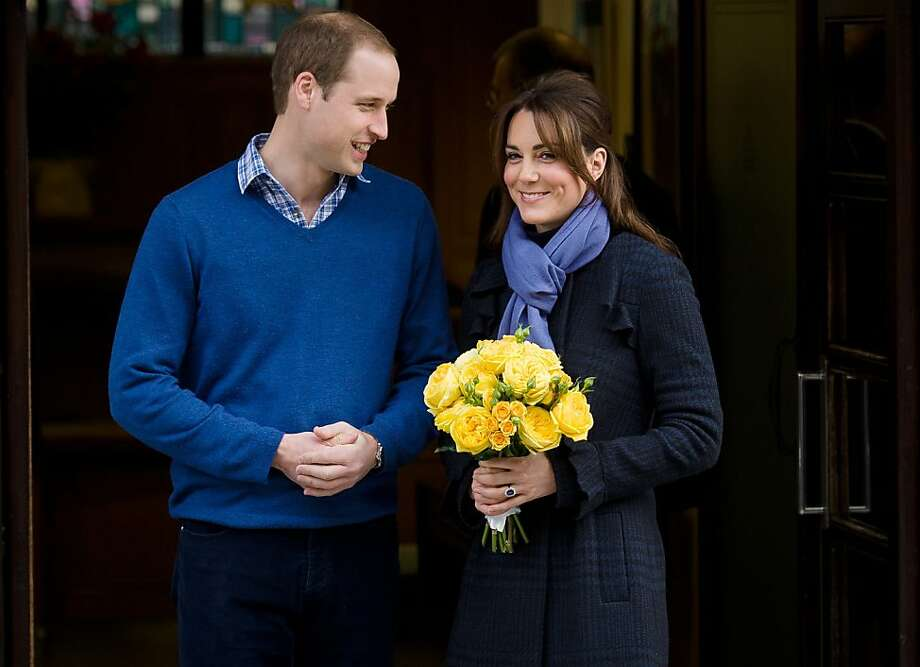 We're feeling much better, thank you: William and Kate leave King Edward VII Hospital in London after the pregnant Duchess of Cambridge was admitted for treatment of acute morning sickness. Photo: Leon Neal, AFP/Getty Images