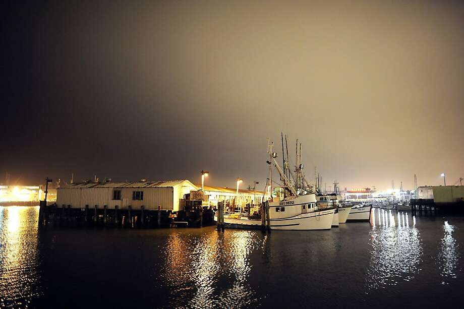 Crab boats  sit idle at Fisherman's Wharf during price dispute last week. Photo: Michael Short, Special To The Chronicle