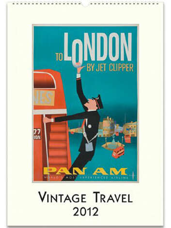 For the Mad Men Fan: Vintage 2012 Wall Calendar