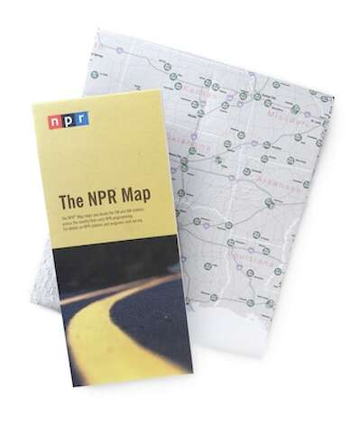 For the (Long) Road Trip:The NPR Map