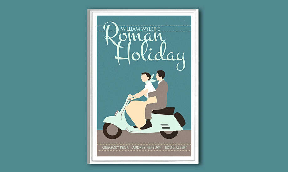 For the Cult Fan: Illustrated Film PostersNo one really needs a Roman Holiday poster on their wall. But this piece of original art riffing on one of its more well-known scenes? Sure, why not? Prints span titles from every era, so the Hitchcock fan is still covered.