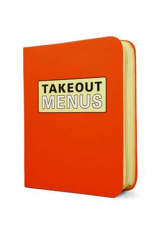 For the Immaculate: Takeout-Menu Organizer