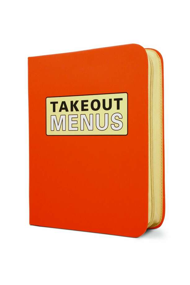 For the Immaculate: Takeout-Menu OrganizerIt even comes with pages to mark down what you ordered and which places to give another call. To solve the perennial pizza debate.