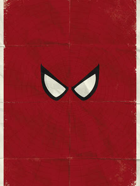 For the Summer-Blockbuster Buff: Minimalist Comic-Book PrintsNext year is already mor