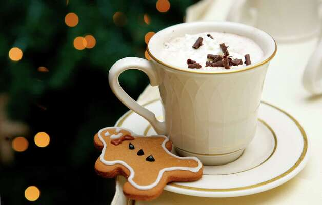 4. Spicy rum cocoa- 2 oz. dark rum- 1/2 oz. chocolate liqueur- 2 oz. milk- 2 tsp. brown sugar- 1 dash of cinnamon- 1 thin slice of habanero chili (can be omitted)- whipped creamPut all of the ingredients except for the whipped cream into a saucepan, then simmer over low heat while stirring. Strain the delicious mixture into a mug and top it with whipped cream. Sprinkle some chocolate or whatever you'd like on the top. Easy!Recipe via Liquor.com Photo: Andy Rogers / Andy Rogers/Seattle P-I archive