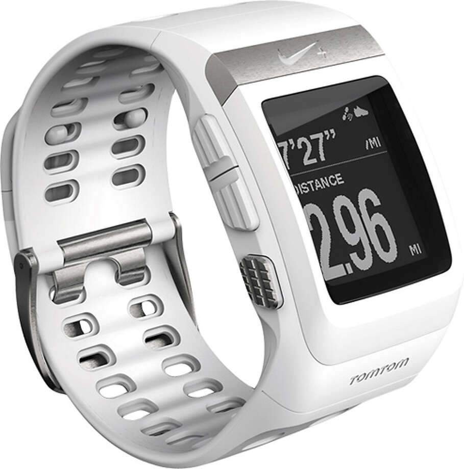 Or a Sporty OneWith an easy-to-read display.  Nike+SportWatch GPS ($169) nike.com Photo: Contributed Photo