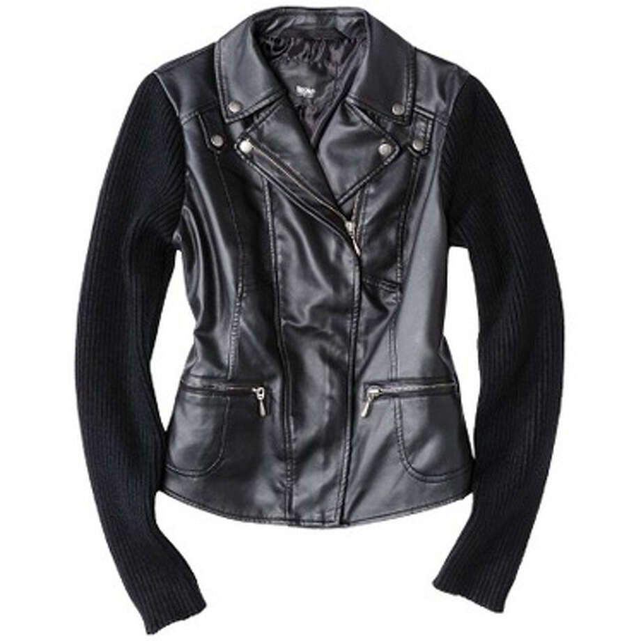 A Leather JacketProvoke her inner badass.  Mossimo women's moto faux leather jacket ($39.99) target.com Photo: Contributed Photo