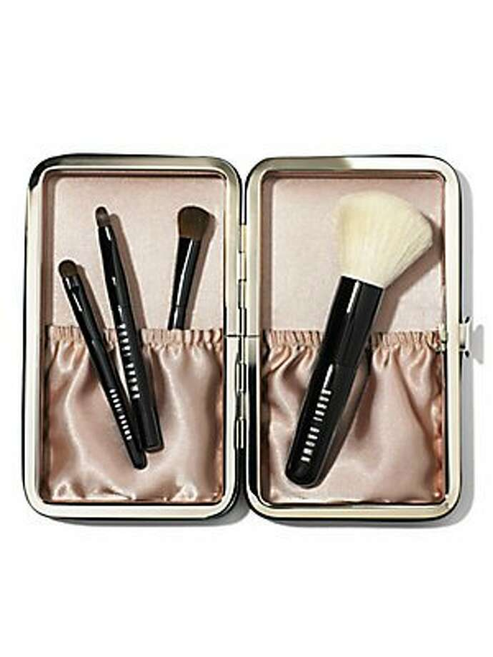 A Brush SetSays you know what she goes through to look perfect.