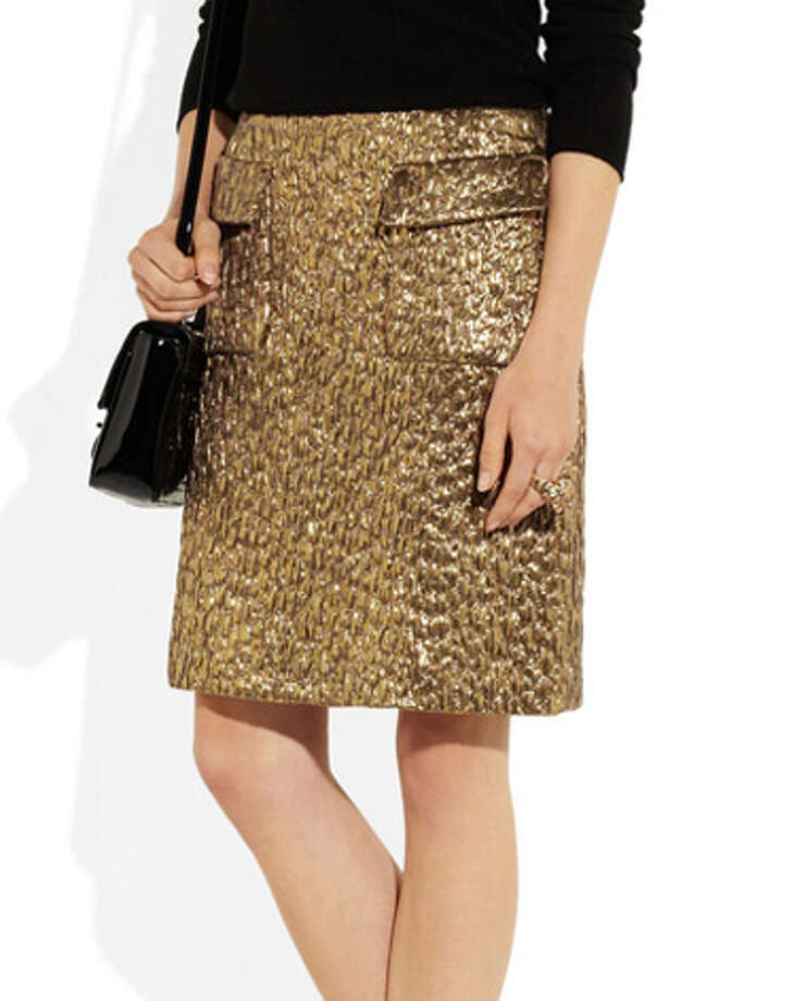 Something GoldSays festive and flirty.