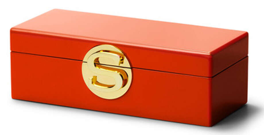 A Jewelry BoxFor the keepsakes of seasons past.  C. Wonder monogram jewelry box ($78) cwonder.comEsquire: Alexia Fast, your Holiday Gift Elf Photo: Contributed Photo