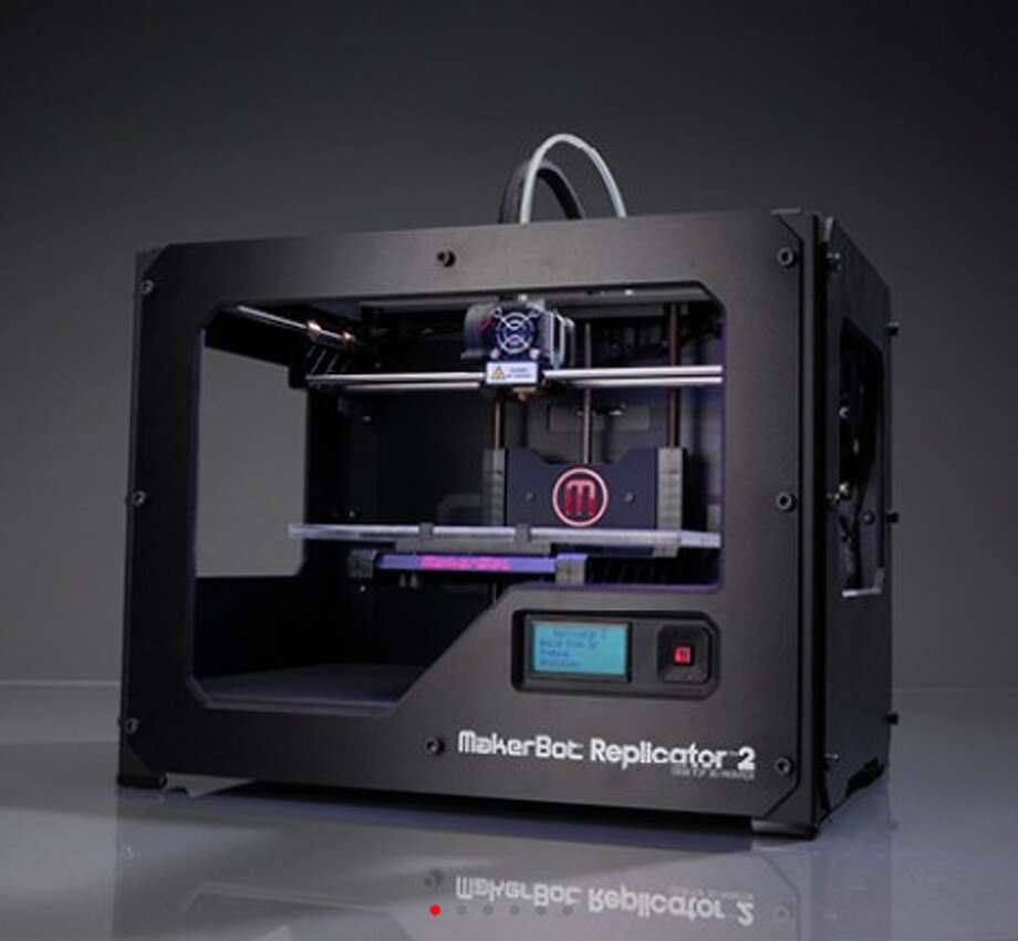 The MakerBot Replicator 2Screw Legos: This future-is-now 3-D printer fabricates objects out of polymers — based on plans that your kid can download or design with free software like Google's SketchUp. The U.S. Army uses mobile 3-D printers to fabricate replacement parts in Afghanistan. NASA is printing rocket parts. And in Japan, 3-D printers scan your body and print out your own action figure. Next year, he can make everyone's presents.