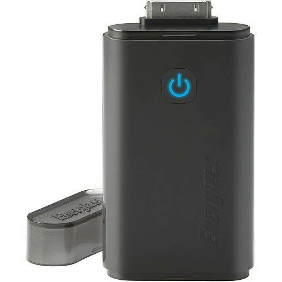 The Energizer Instant Charger for iPods and iPhones. Photo: Energizer