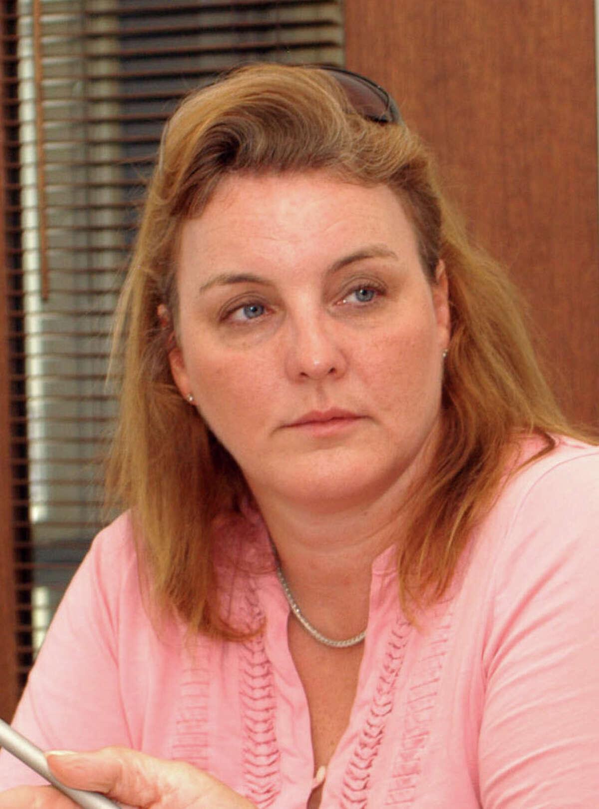 Newtown Board of Education Chairman Debbie Leidlein