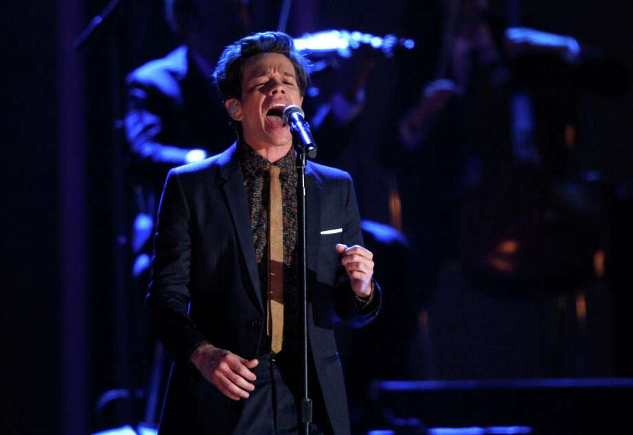 Nate Ruess, of the musical group fun., performs at the Grammy Nominations Concert Live! at Bridgestone Arena on Wednesday, Dec. 5, 2012, in Nashville, Tenn. (Photo by Wade Payne/Invision/AP) Photo: Wade Payne