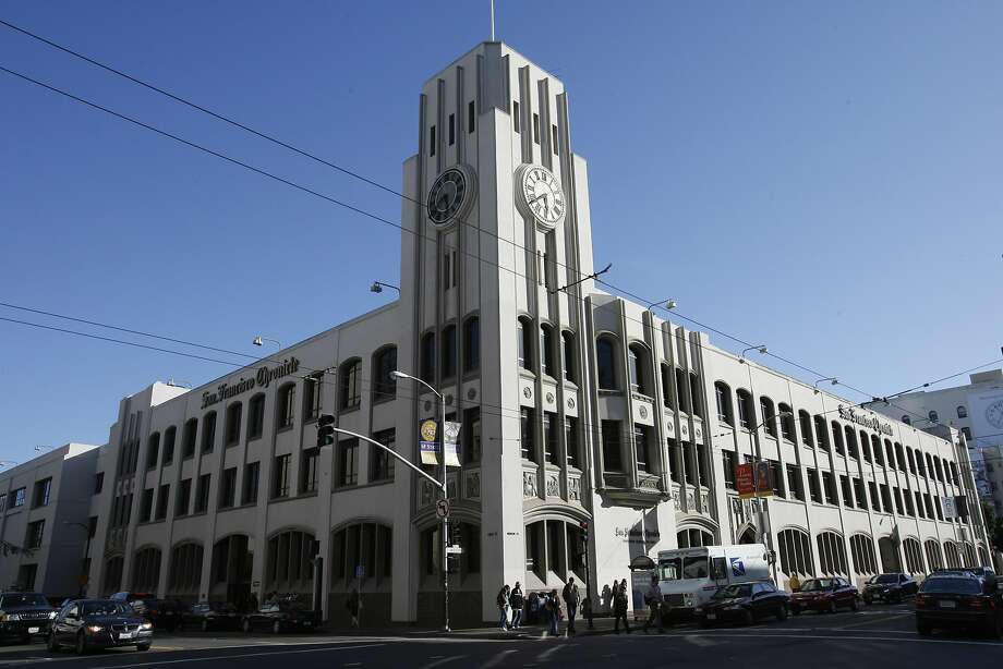 The Chronicle Building at 901 Mission St. in San Francisco. Photo: Deanne Fitzmaurice, The Chronicle