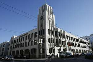 The Chronicle Building at 901 Mission St. in San Francisco.      Ran on: 10-25-2007 The Chronicle building at Fifth and Mission streets could be sold. Ran on: 10-25-2007 The Chronicle building at Fifth and Mission streets opened in 1924.