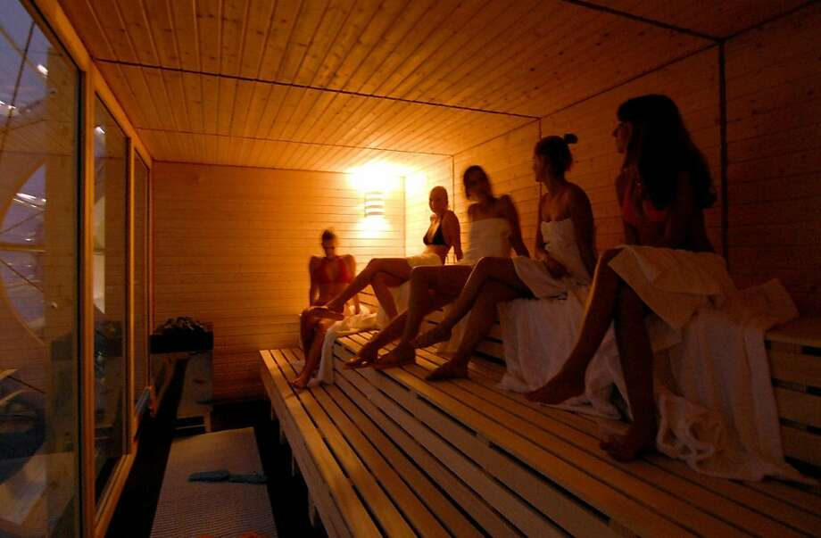 Estonia: Sauna on Christmas Eve In Estonia, Christmas is a mix of pagan traditions celebrating the Winter Solstice and Christmas. Christmas is usually celebrated on Christmas Eve and then most Estonians start off with a visit to the nearest sauna where they usually bathe nude. Photo: Theo Heimann, AFP/Getty Images