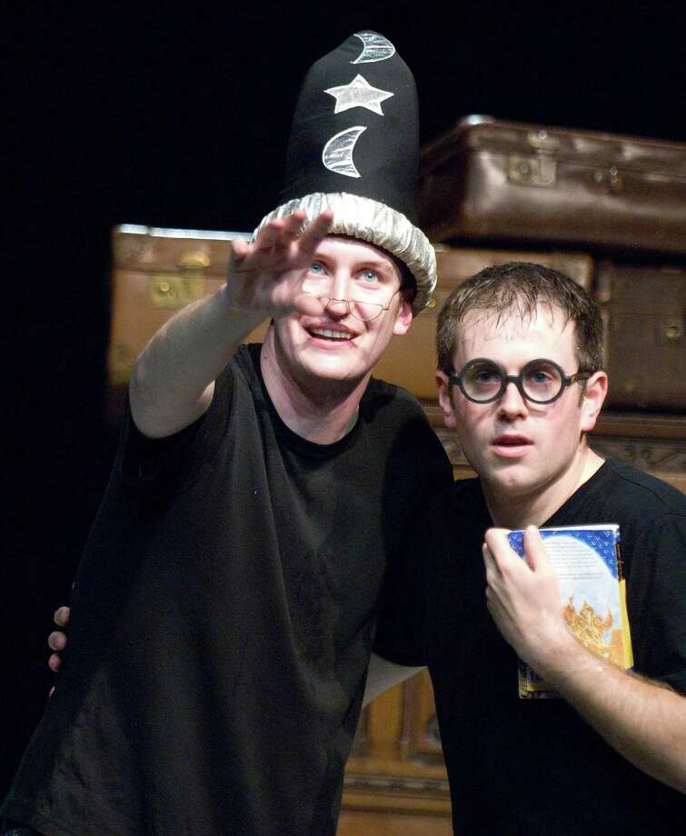 """Potted Potter,"" a two-man version of the Harry Potter saga. (Geraint Lewis) Photo: Geraint Lewis / Geraint Lewis 07831413452 Fees apply"