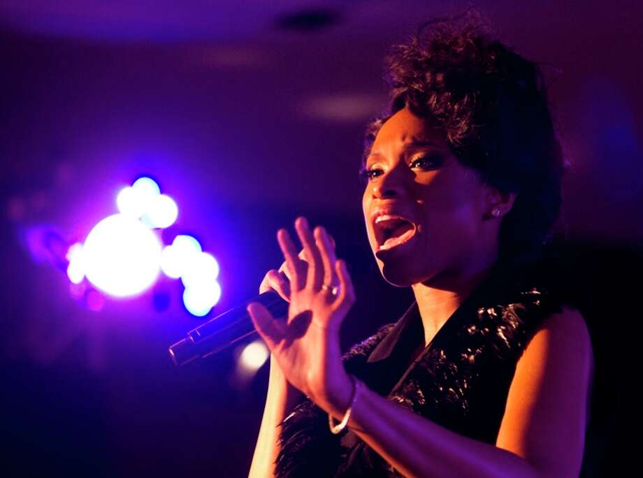 Jennifer Hudson was accused  of lip syncing at the Super Bowl in 2009.  Photo: J. Patric Schneider / © 2012 Houston Chronicle