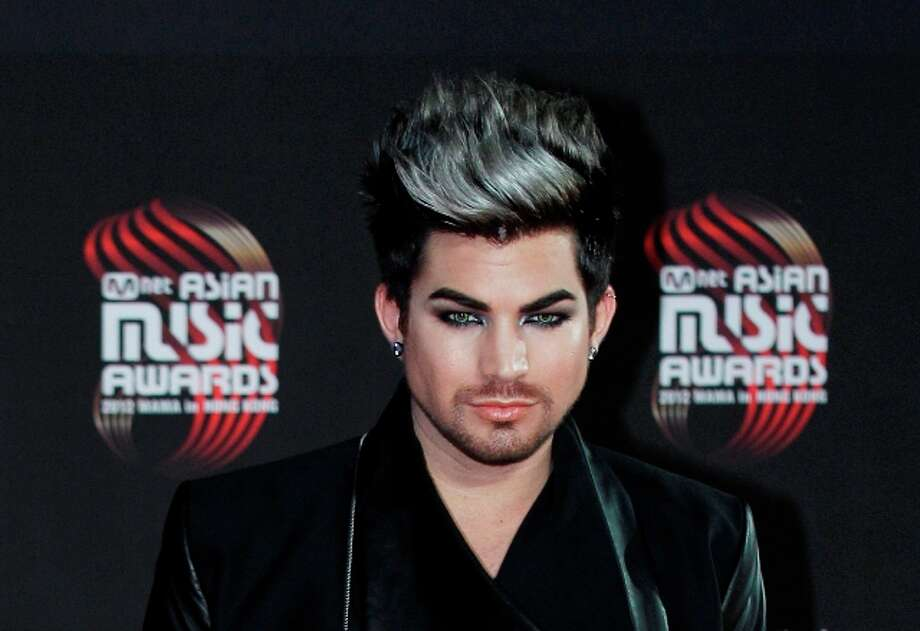 Adam Lambert: runner-up, American Idol season 8. Lambert released albums that charted worldwide and become an advocate for the LGBT community.  Photo: Kin Cheung