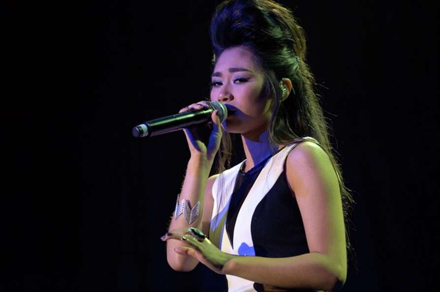 Jessica Sanchez: runner up, American Idol season 11. She performed at the Democratic National Conven