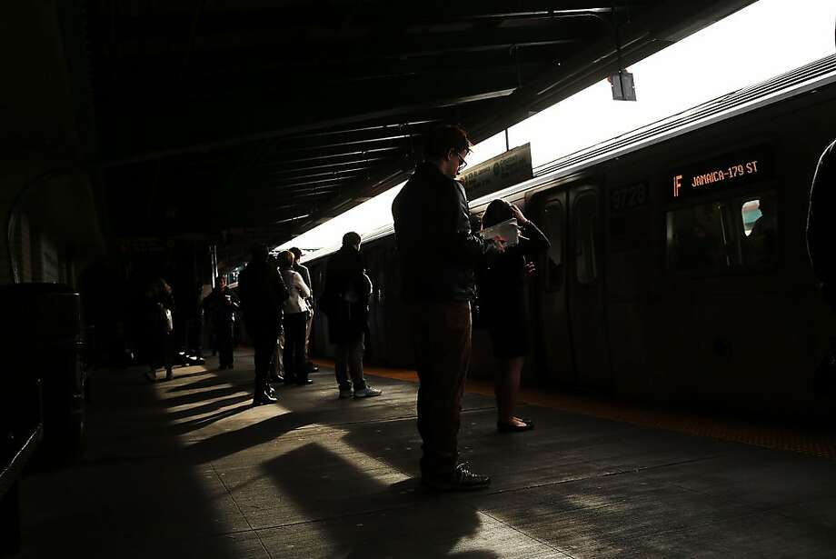 The New York subway tragedy illustrates how hard it is to get a hand up in this country - either literally or figuratively. Photo: Spencer Platt, Getty Images