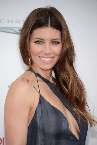 Actress Jessica Biel attends Film District and Chrysler with the Cinema Society Premiere of Playing