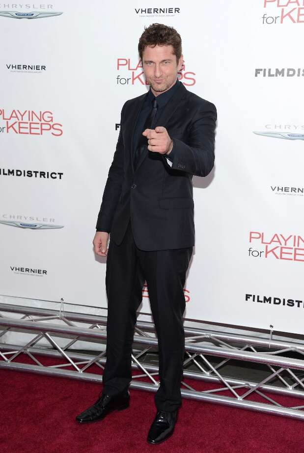 Actor Gerard Butler attends Film District And Chrysler With The Cinema Society Premiere Of Playing For Keeps at AMC Lincoln Square Theater on December 5, 2012 in New York City.  (Photo by Andrew H. Walker/Getty Images) Photo: Andrew H. Walker, Getty Images / 2012 Getty Images