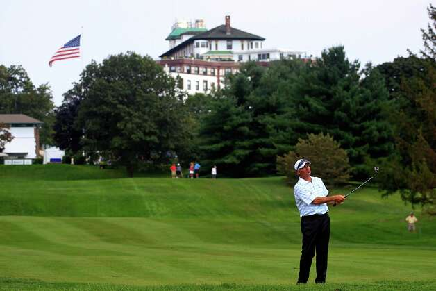 11. 10580: Located at Rye, N.Y., this ZIP code is home to 4,492 families where the median family income is $216,810. That's Fred Couples golfing there. Photo: Chris Trotman, / / 2011 Getty Images