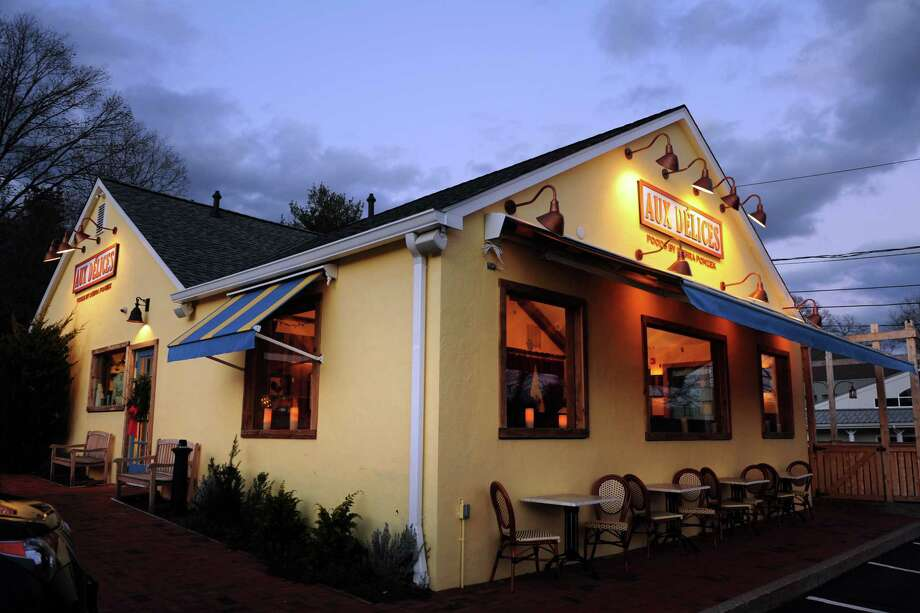 Aux Delices Bistro in Westport, Conn. Photo: Autumn Driscoll / Connecticut Post