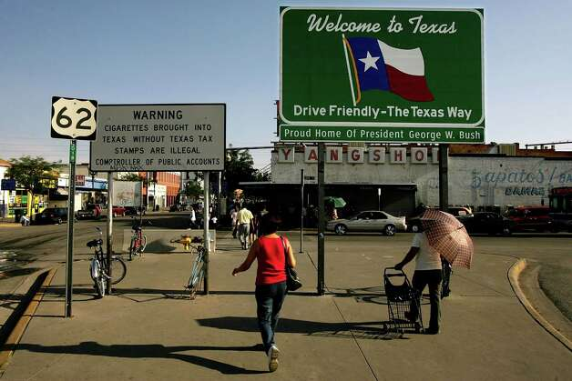 #1: El Paso, TX Photo: Chip Somodevilla, / / 2007 Getty Images