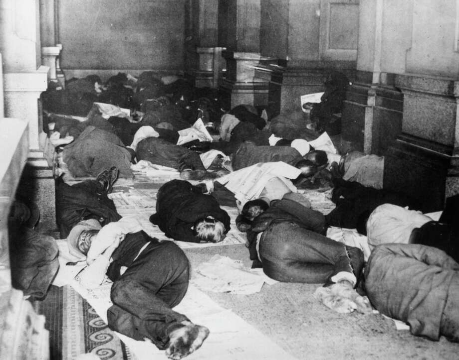 7. 19133: Located at Philadelphia, Penn., this ZIP code is home to 5166 families where the median family income is more than $18,045. Pictured above in a 1931 photo, unemployed citizens of Philadelphia sleep in the corridors of City Hall to escape the cold weather. Photo: Hulton Archive, / / Hulton Archive