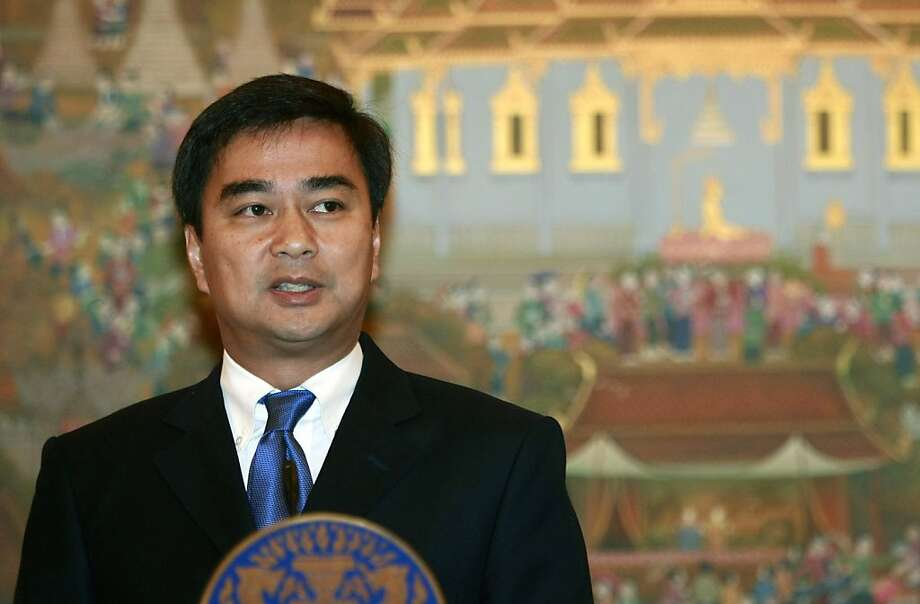 Abhisit Vejjajiva's party lost power in 2011 Photo: Apichart Weerawong, Associated Press