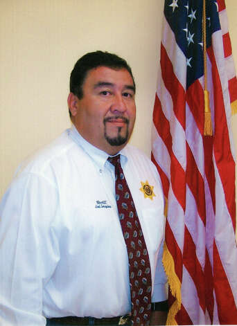 Photo of Dimmit County sheriff Joel Gonzales .