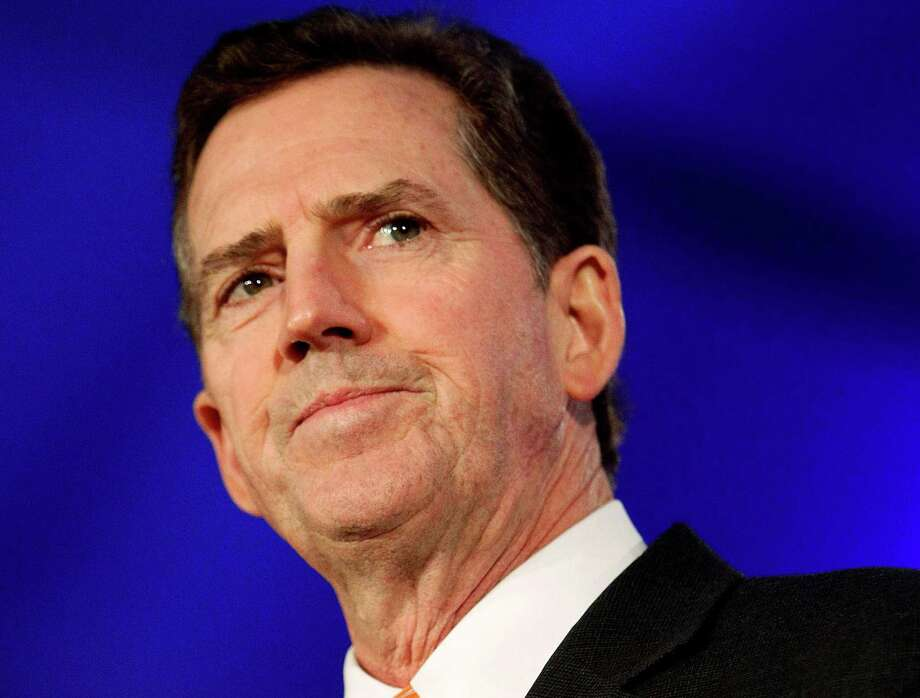 FILE - In this June 17, 2011 file photo, Sen. Jim DeMint, R-S.C. speaks in New Orleans. DeMint announced Thursday, Dec. 6, 2012  that he is resigning to take over at Heritage Foundation. (AP Photo/Patrick Semansky, File) Photo: Patrick Semansky