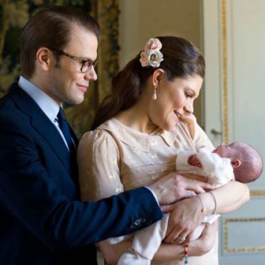 Estelle is popular again in part because Sweden's Crown Princess Victoria and Prince Daniel named their baby Estelle.(Associated Press)