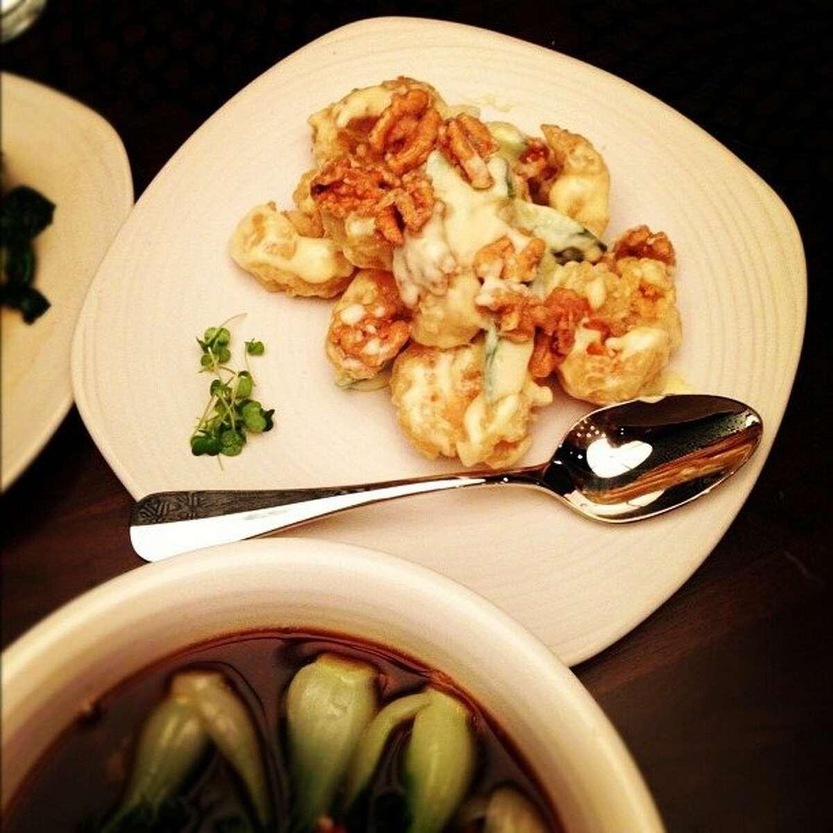 Honey Walnut shrimp at M.Y. China.
