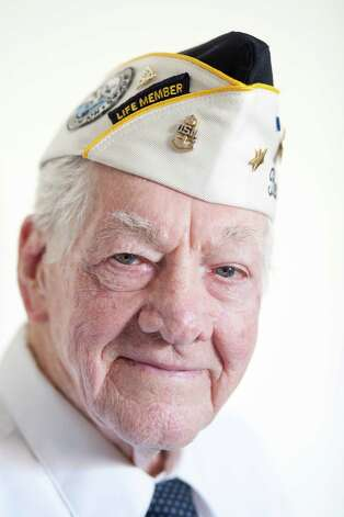 Richard Cunningham was a 20-year-old chief boatswain's mate stationed on the USS West Virginia when he survived the attack on Pearl Harbor on December 7, 1941. Cunningham, now 91, is photographed at his home in Hewitt, Texas on December 4, 2012. Photo: Julia Robinson / © Julia Robinson Photo