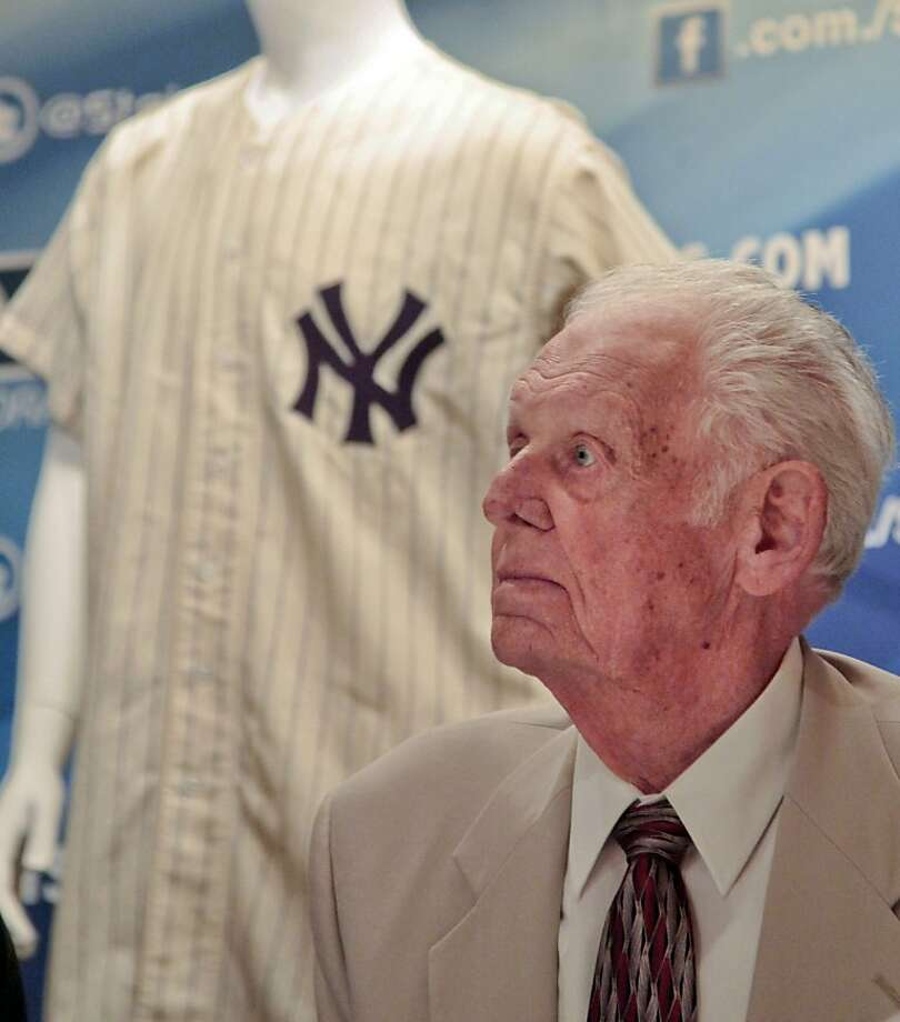 Don Larsen Photo: Bebeto Matthews, Associated Press