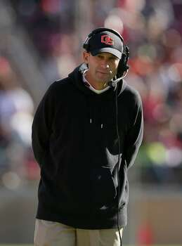 Oregon State Beavers head coach Mike Riley walks the sidelines during game against the Stanford Cardinal at Stanford Stadium on November 10, 2012 in Stanford, California. Photo: Ezra Shaw, Getty Images / 2012 Getty Images