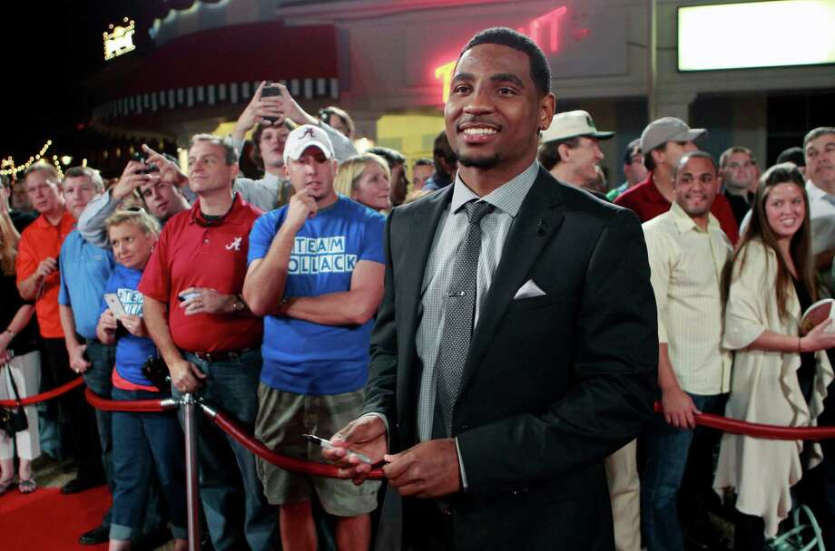 Ohio State quarterback Braxton Miller arrives at the Home Depot College Football Awards in Lake Buena Vista, Fla., Thursday, Dec. 6, 2012. (AP Photo/John Raoux) Photo: John Raoux, Associated Press / AP