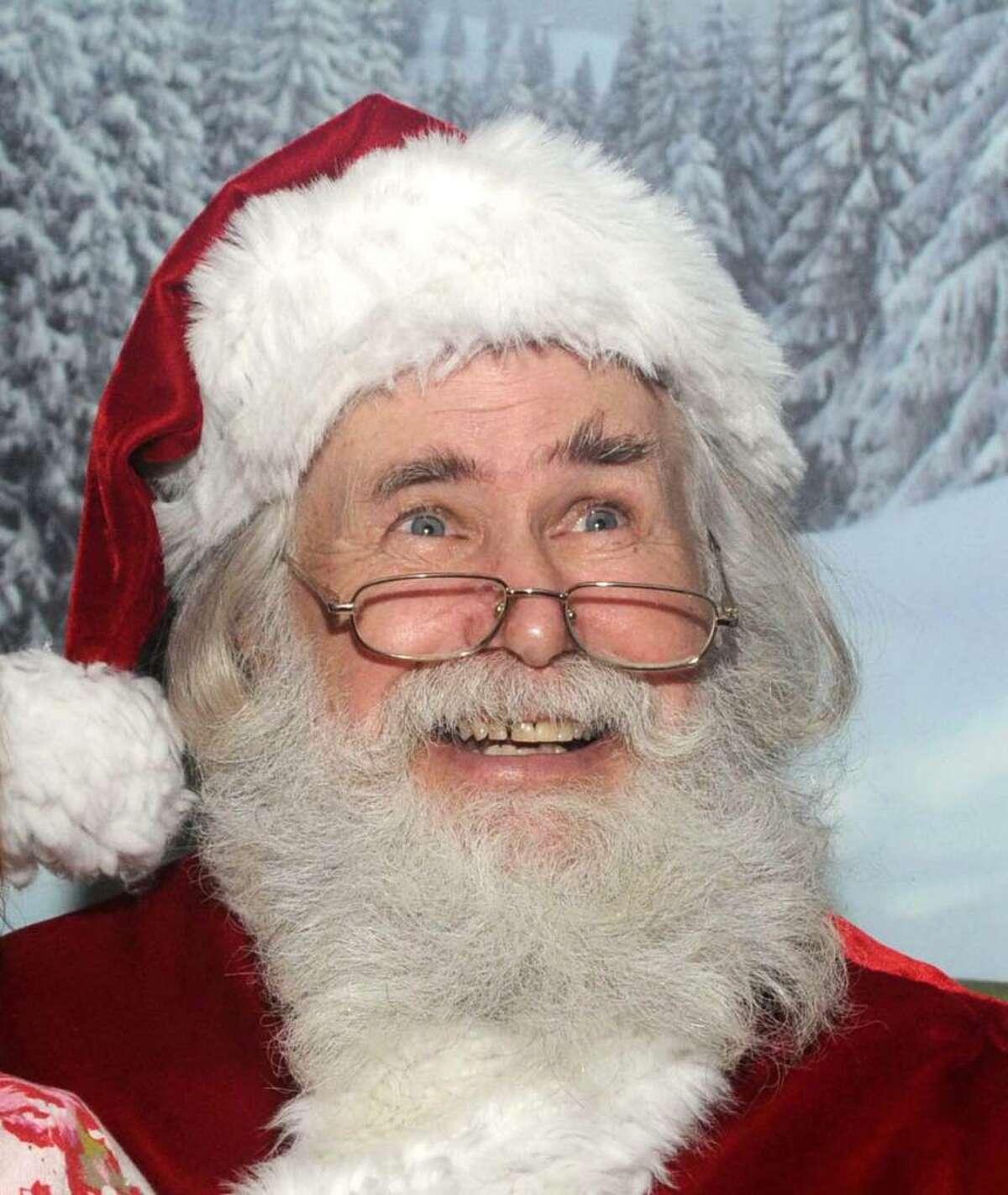 Santa Claus at the Danbury Fair Mall on Thursday Dec. 3, 2009.