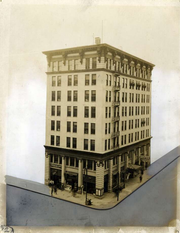 Stewart Building, 403 Fannin in downtown Houston. (Houston Chronicle file)