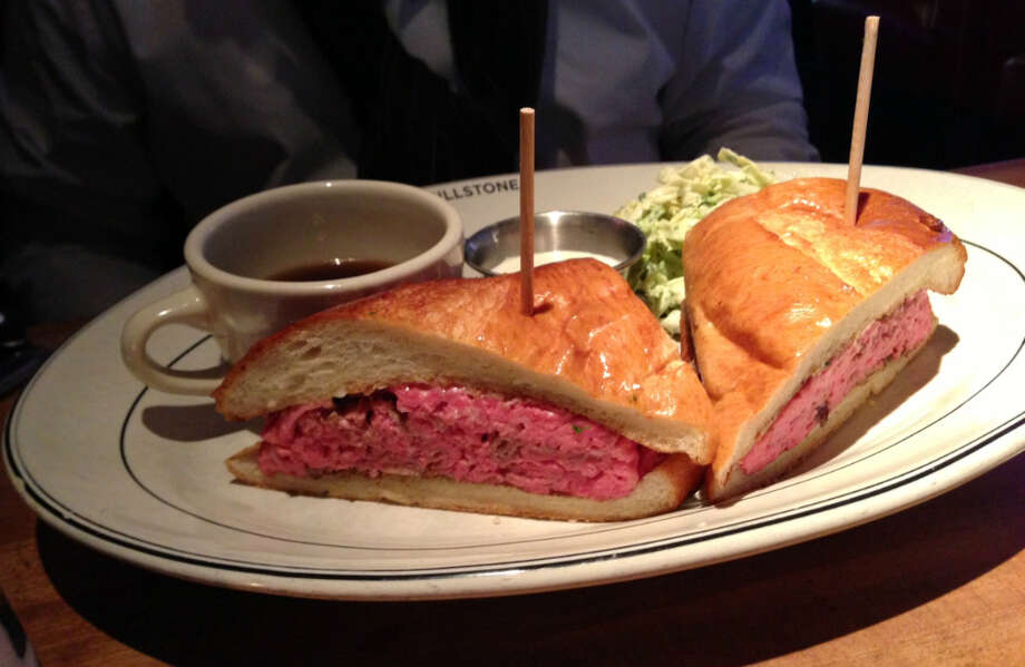 French dip sandwich at Hillstone